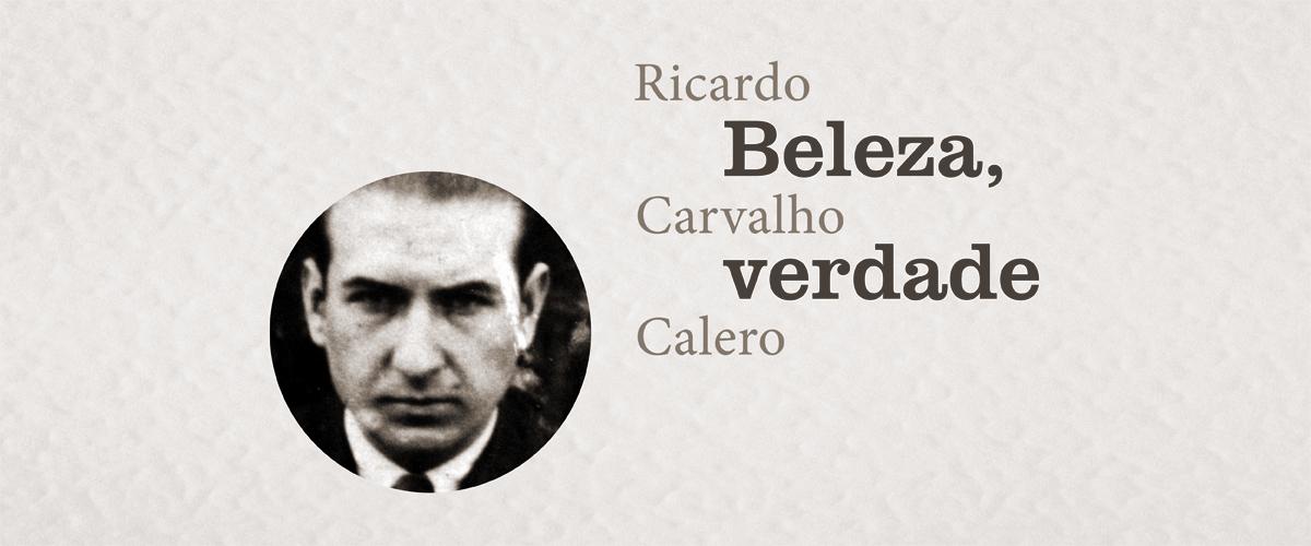 BELEZA VERDADE Ricardo Carbalho Calero